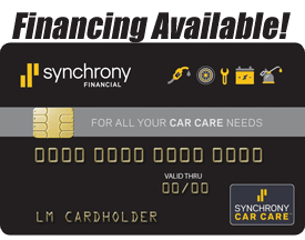 Financing Available Through Snychrony